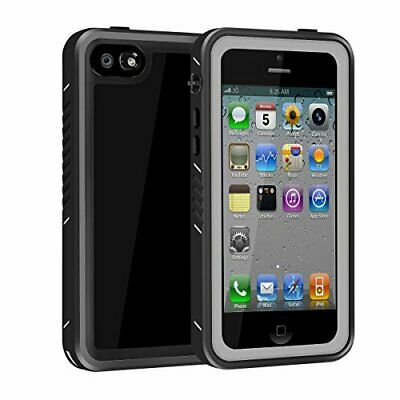 for iPhone 55SSE Waterproof Case Full Body Protective Rugged Clear Phone Case