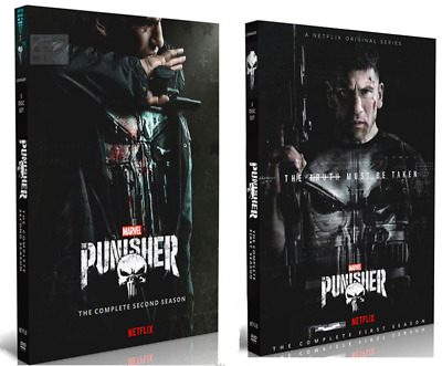 THE PUNISHER Complete Seasons 1 - 2 DVD 6-Disc Set Brand New