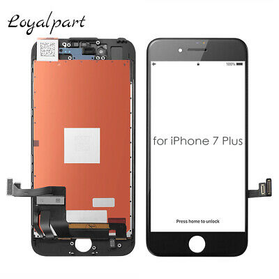 For iPhone 7 Plus Screen Replacement LCD Touch Digitizer Assembly Display Black