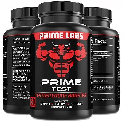 1-Testosterone Booster Stronger than Granite  Natural Test Boost 60 Capsules