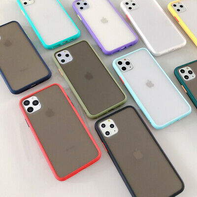 Iphone 11 Pro Iphone 11 pro max  Clear Phone Case Shockproof Bumper Hard Cover