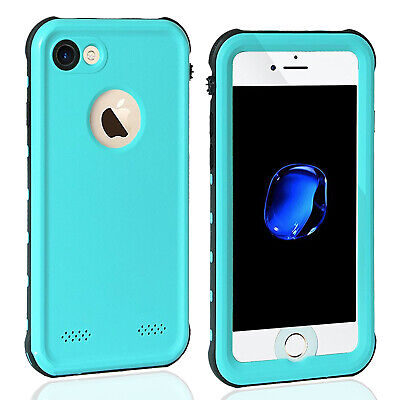 Full Body For iPhone 7 Plus Waterproof Case Shockproof Screen Protector iphone 8
