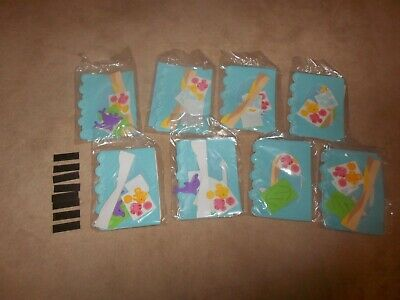 NEW UNDER THE SEA PHOTO MAGNET CRAFT KIT SET OF 8