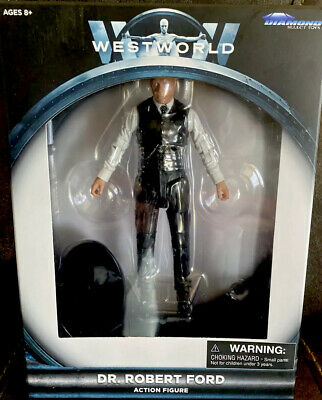 WESTWORLD Dr ROBERT FORD COLLECTIBLE FIGURE DIAMOND SELECT-NEW FREE SHIP