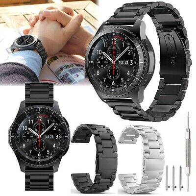 Stainless Steel Strap Watch Band For Samsung Galaxy Gear S3 FrontierClassic USA