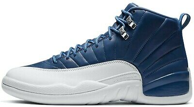 Air Jordan 12 Indigo Retro Stone Blue White Obsidian 130690-404