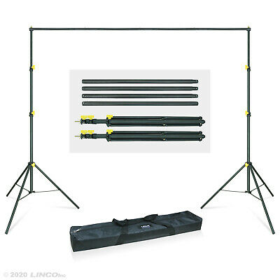 Backdrop Support Stand Kit 10x6-5ft Studio Photo Background Support System