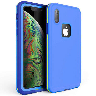 Full-Body For iphone XR Case Waterproof Shockproof Screen Protector Xs Max cover