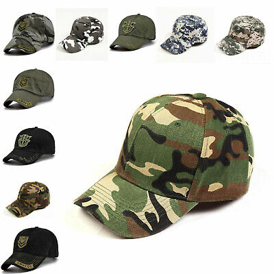 New Army Baseball Cap Fashion Camo Tactical Military Style Hiking Outdoor Hats