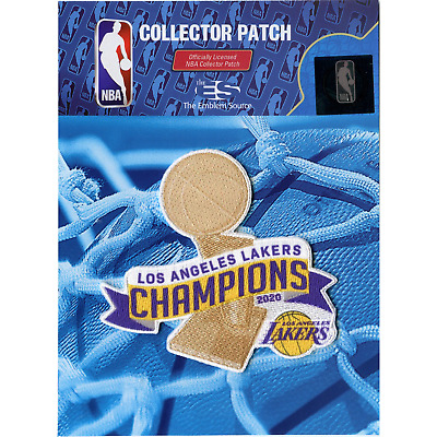 2020 NBA Finals Champions Los Angeles Lakers Trophy Patch