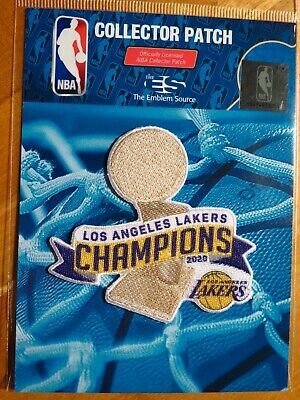 NBA Los Angeles Lakers 2020 NBA Championship Patch 2 FREE Shipping US - Canada
