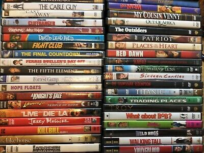 DVDS Movies PICK and CHOOSE From 300 - Action - Drama - Comedy - Combined Ship