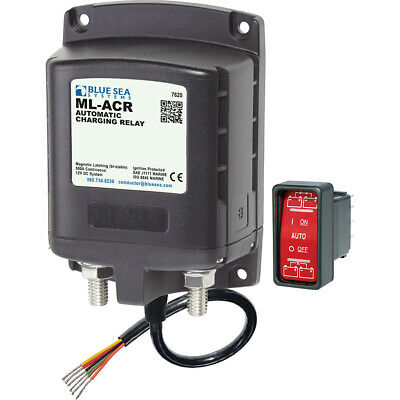 Blue Sea 7620 ML-Series Automatic Charging Relay Magnetic Latch 12VDC