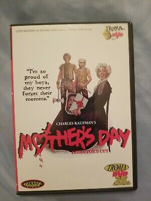 Mothers Day DVD 2000 Horror Gore Directors Cut Troma