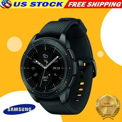 PROMOTION Samsung Galaxy Watch Gear S4 42mm SM-R810 Bluetooth  WiFi Black
