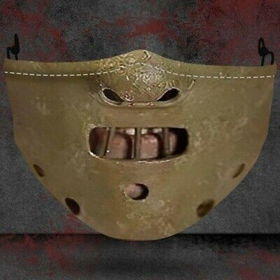 Horror Hannibal LectorSilence of the Lambs Adult Scary Cannibal Half Face Mask