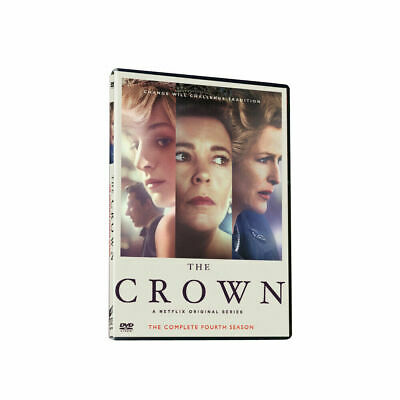 The CrownThe Complete Season 4DVD3-Disc Set New Sealed