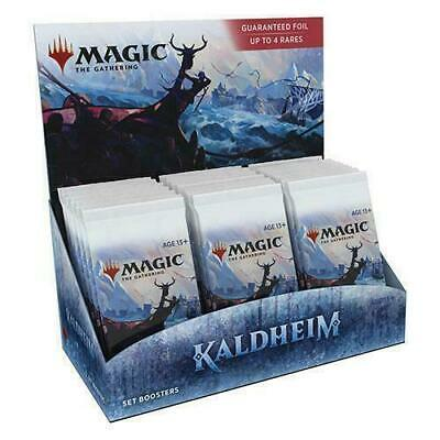 Kaldheim Set Booster Box - MTG - Brand New Our Preorders Ship Fast
