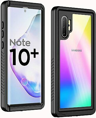 For Samsung Galaxy Note10  Note 10 Plus Waterproof Case Cover Screen Protector