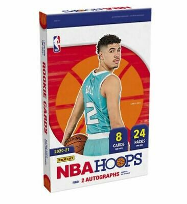 2020-21 Panini NBA Hoops Basketball PRE-SALE for 1 PACK of CARDS