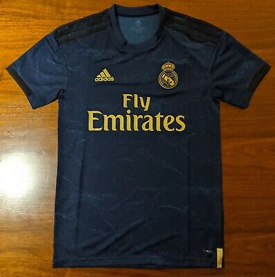 adidas Real Madrid 2019 - 2020 Away Soccer Jersey BNWT Navy Adult Extra Small XS