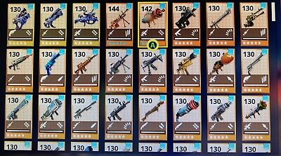 Any 25x Fortnite Save The World Weapons Of Your Choice- See Description