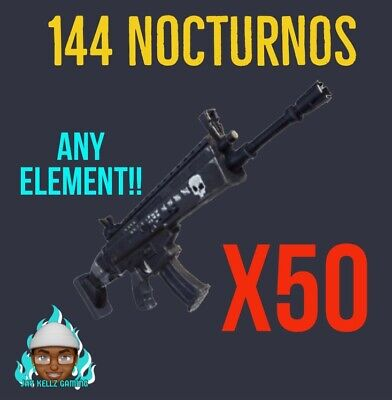 x50 Supercharged Nocturnos Any Element- Fortnite Save The World