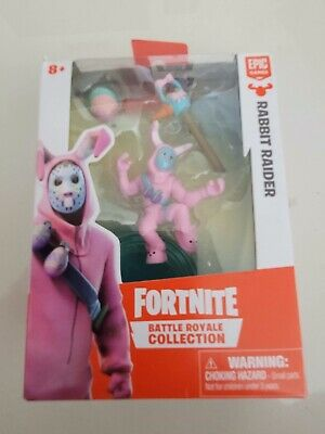 FORTNITE BATTLE ROYAL COLLECTION RABBIT RAIDER FIGURE EPIC GAMES 2018 NEW IN BOX