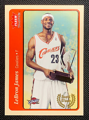 🔥2004 LeBron James 210 Fleer Tradition💥Second Year - Cavaliers🔥