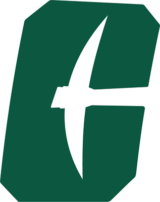 Charlotte 49ers 4 Inch NCAA Color Die-Cut Decal  Sticker Free Shipping