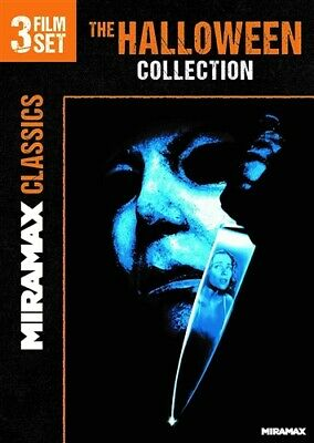 THE HALLOWEEN COLLECTION New DVD 6 7 8 Curse of Michael Myers H2O Resurrection