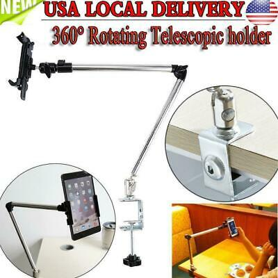 360° Rotating Lazy Mount Table Desk Car Stand Holder For Cell Phone Mini IPAD