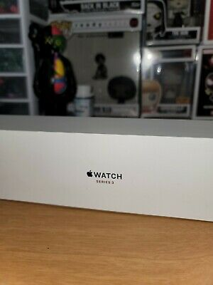Apple Watch Series 3 38 mm White band BOX and BAND ONLY