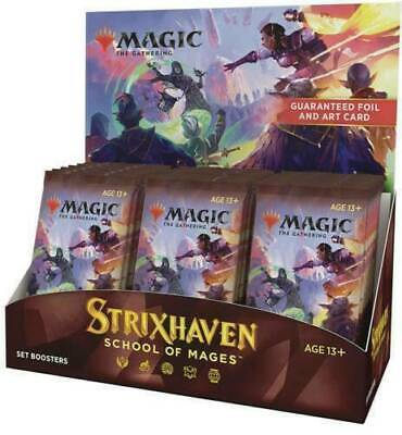 Strixhaven Set Booster Box - MTG - Brand New Our Preorders Ship Fast