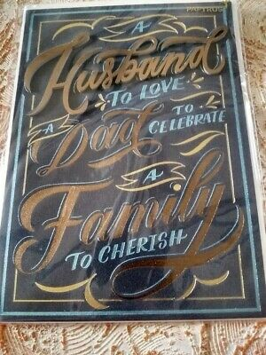 1 Papyrus Fathers Day Card Husband To Love Dad To Celebrate Family To Cherish