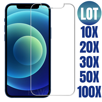 Wholesale Bulk Lot Screen Protector Tempered Glass For iPhone 12 Pro Max 12 Pro