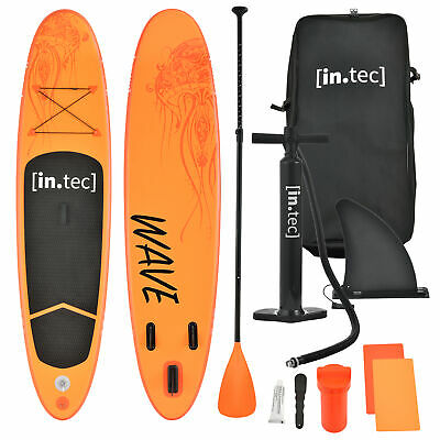 in-tec Stand Up Paddle Board 305cm Surfboard SUP Paddelboard Wellenreiter