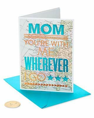 Papyrus Mothers Day Card Map