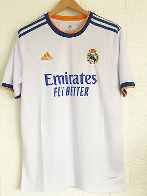 New 20212022 FC Real Madrid Football Jersey for Men Home shirt for Adult