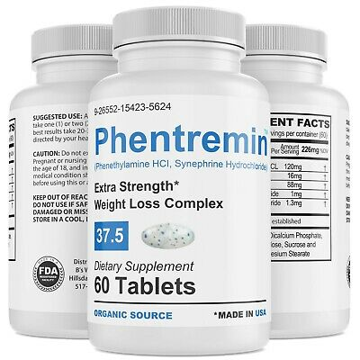 Phentremin® Extra Strength Weight Control Complex Appetite Suppressant 37-5 Pill