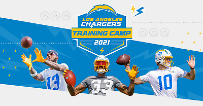 Los Angeles Chargers Training Camp Tickets - NFL Football Practice
