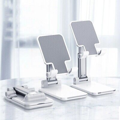 Universal Desktop Mobile Phone Holder Stand for iPhone iPad Tablet Cell Foldable