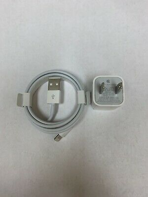 100 Original Apple iPhone XR 11 12 7 8 XS  Charger Adapter - Cable