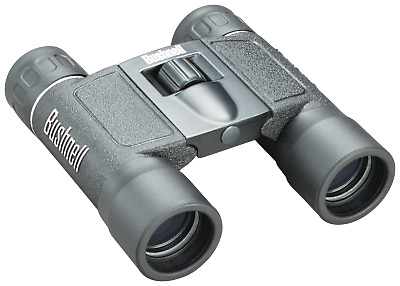 Bushnell Powerview 10x25 Binocular- Folding Roof Prism- Compact- High 10x Power