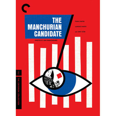 The Manchurian Candidate DVD 2016 Criterion Collection