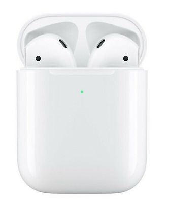 Airpods 2nd wireless headphones - charging case White