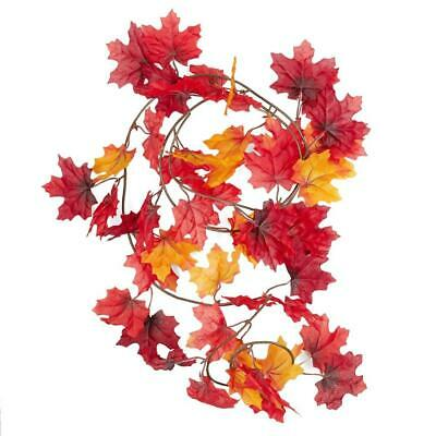 Artificial Maple Leaf Garlands Package of 3