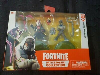 Fortnite Game Battle Royale Collection 2 Figurines DRIFT - ABSTRAKT New In Box