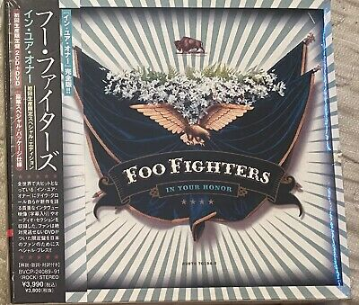 FOO FIGHTERS - IN YOUR HONOUR (SEALED JAPAN 2 x CD; 1 x DVD)