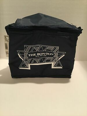 Bon Ton Insulated Bag With Advertising-Navy Blue-Free Shipping